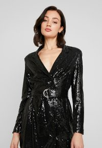 Nly by Nelly - FABULOUS SEQUIN SUIT DRESS - Cocktail dress / Party dress - black