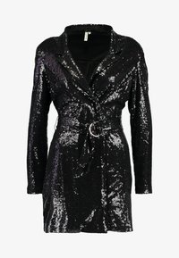 Nly by Nelly - FABULOUS SEQUIN SUIT DRESS - Cocktail dress / Party dress - black - 4
