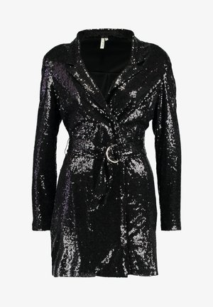 FABULOUS SEQUIN SUIT DRESS - Cocktailklänning - black