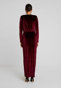 Nly by Nelly - DRAPED WAIST GOWN - Occasion wear - burgundy - 3