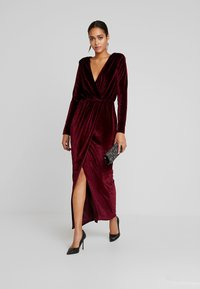 Nly by Nelly - DRAPED WAIST GOWN - Occasion wear - burgundy - 2