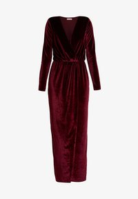 Nly by Nelly - DRAPED WAIST GOWN - Occasion wear - burgundy - 6