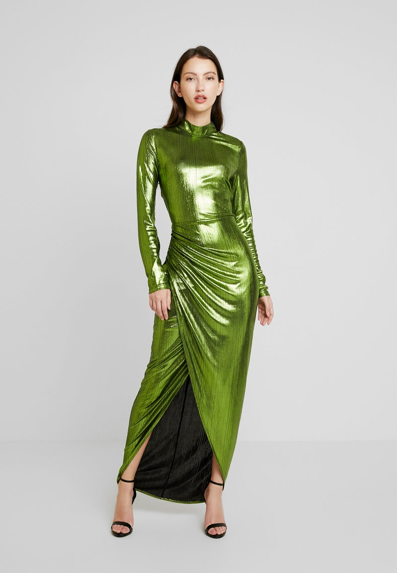 Nly by Nelly - SHIMMERY DRAPY GOWN - Ballkleid - green