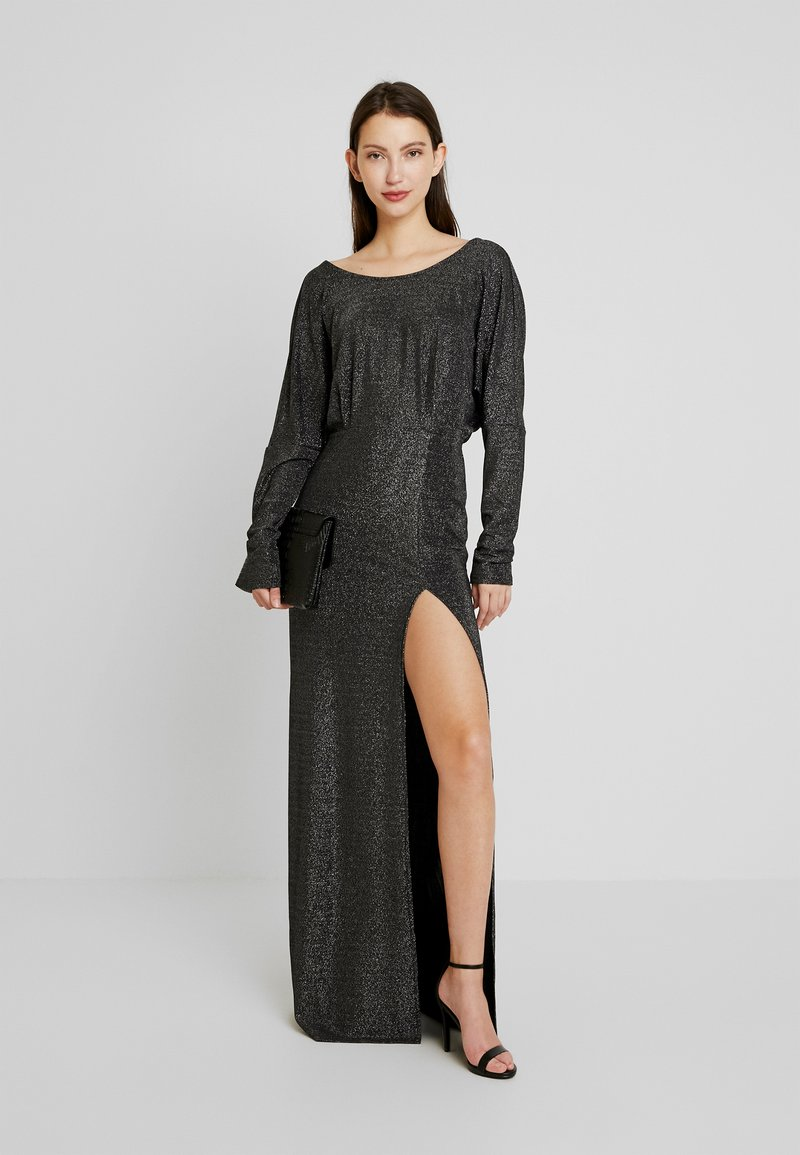 Nly by Nelly - TWISTED BACK GOWN - Robe de cocktail - black