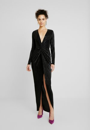 TWISTED SHINY GOWN - Ballkjole - black