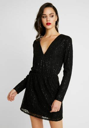 SPARKLY DRESS - Sukienka koktajlowa - black