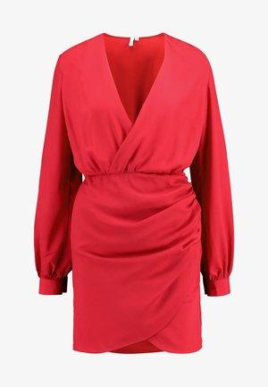 WRAP ON DRESS - Kjole - red