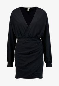 Nly by Nelly - WRAP ON DRESS - Robe d'été - black - 4