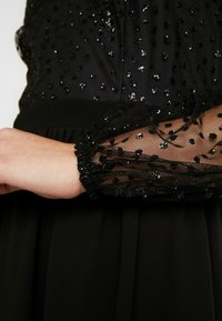 Nly by Nelly - RITZY GLITTER SKATER DRESS - Cocktailklänning - black - 5