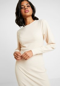Nly by Nelly - COZY DRESS - Shift dress - beige