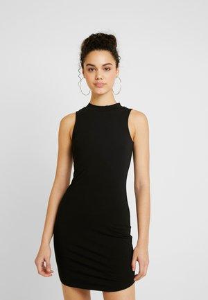 OFF DUTY SLEEVELESS DRESS - Žerzejové šaty - black
