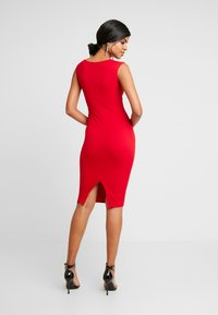 Nly by Nelly - PUSH UP NECKLINE DRESS - Tubino - red - 3