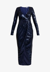 Nly by Nelly - SEQUIN WRAP GOWN - Ballkjole - navy - 3