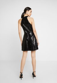Nly by Nelly - SEQUIN SKATER DRESS - Cocktailkjole - black - 3