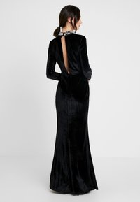 Nly by Nelly - BEADED GOWN - Iltapuku - black - 2