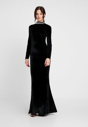 BEADED GOWN - Galajurk - black