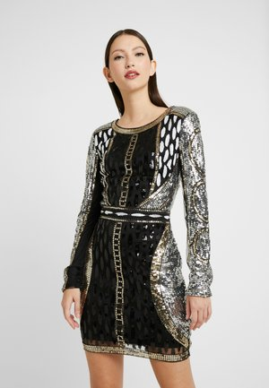 EMBELLISHED MINI DRESS - Vestido de cóctel - multi