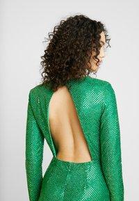 Nly by Nelly - SPARKLING SLIT GOWN - Společenské šaty - green - 7