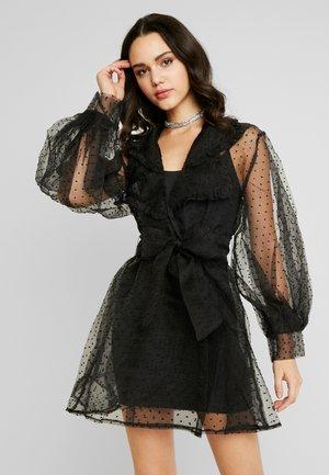 DOT DRESS - Denní šaty - black