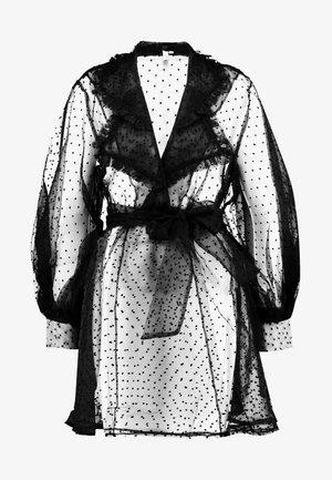 DOT DRESS - Robe d'été - black