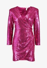 Nly by Nelly - EXTRAVAGANZA SEQUIN DRESS - Vestito elegante - pink - 3