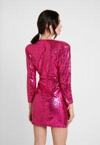 Nly by Nelly - EXTRAVAGANZA SEQUIN DRESS - Vestito elegante - pink - 2