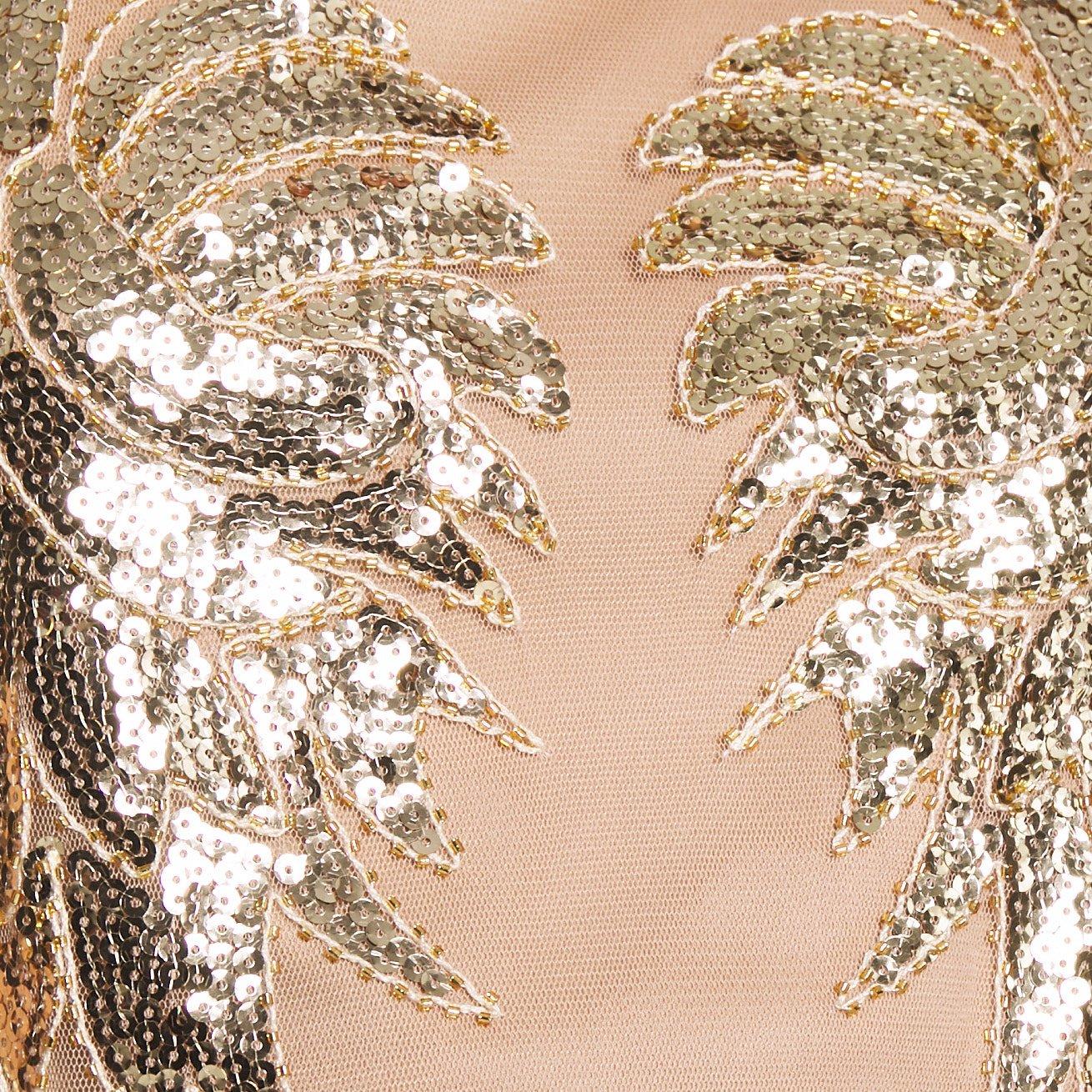 Nly By Nelly Dance Dress - Robe De Soirée Gold