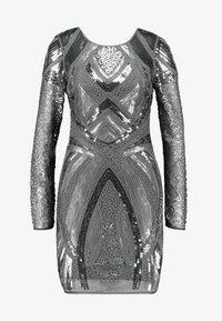 Nly by Nelly - LOVE THAT DRESS - Sukienka koktajlowa - silver - 5