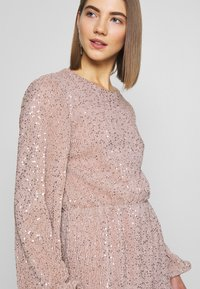Nly by Nelly - BALLOON SLEEVE DRESS - Cocktailklänning - lt pink - 5
