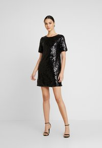 Nly by Nelly - SEQUIN SHIFT DRESS - Vestito elegante - black - 2