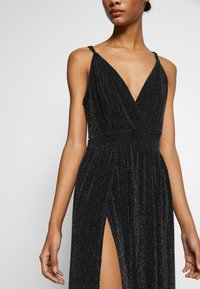 Nly by Nelly - GLITTER DOUBLE SLIT DRESS - Robe de cocktail - black - 5