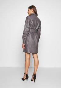 Nly by Nelly - OVERSIZE DRESS - Shirt dress - grey - 2