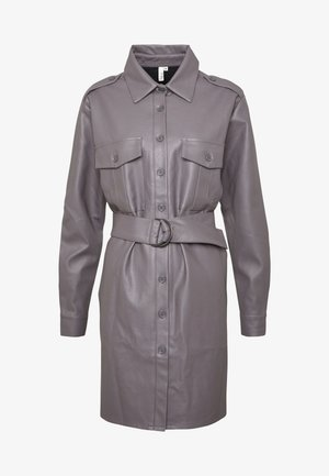 OVERSIZE DRESS - Skjortekjole - grey