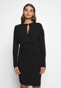 Nly by Nelly - BOOM DRESS - Vestito elegante - black - 0