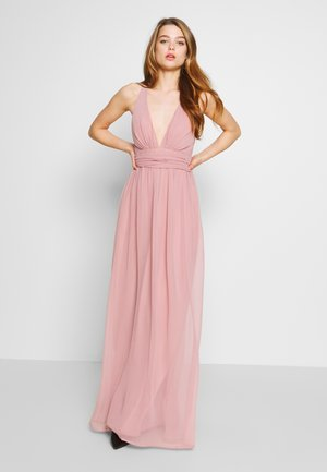 EMPIRE CROSS BACK DRESS - Occasion wear - rose