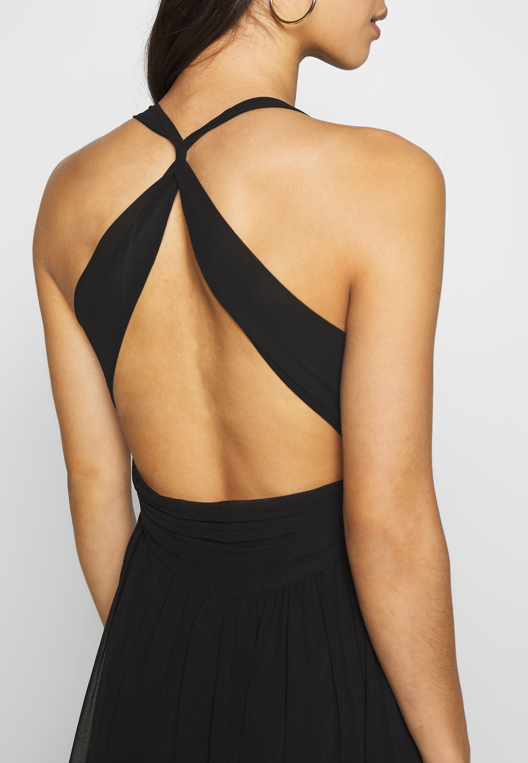 Nly by Nelly EMPIRE CROSS BACK DRESS - Ballkjole - black
