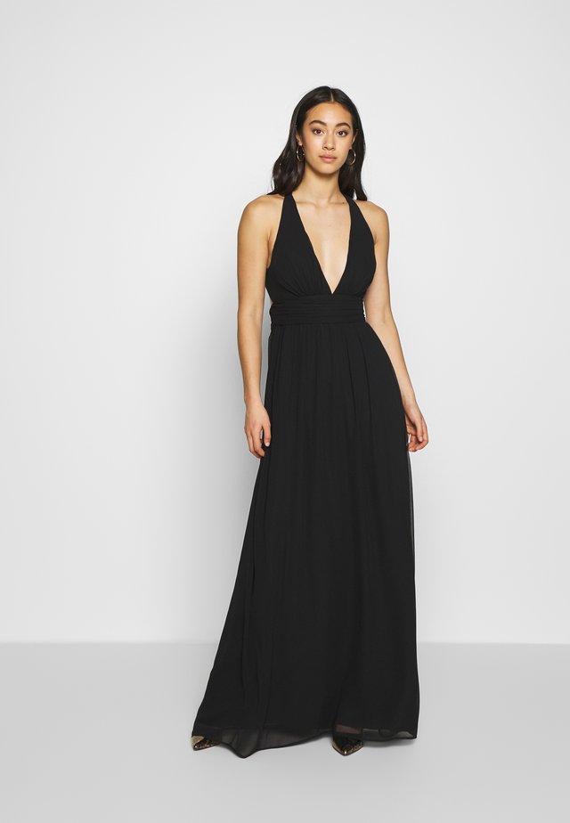 EMPIRE CROSS BACK DRESS - Společenské šaty - black