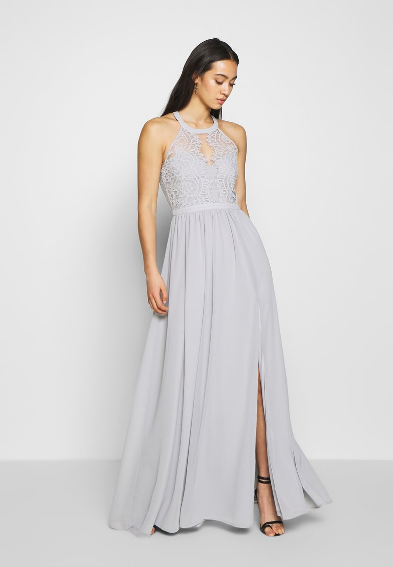 Nly by Nelly - SPORTSCUT INSERT GOWN - Iltapuku - dusty blue