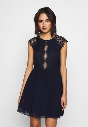SO GOOD CAP SLEEVE DRESS - Juhlamekko - navy