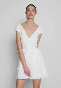 Nly by Nelly - UPPER DRESS - Korte jurk - white - 0