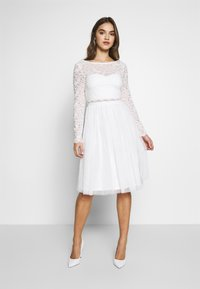 Nly by Nelly - DREAM DRESS - Cocktailklänning - white - 0