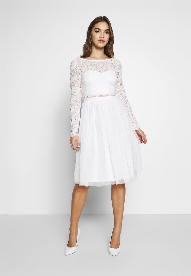 Nly by Nelly - DREAM DRESS - Cocktailklänning - white