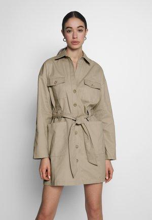 CARGO DRESS - Korte jurk - beige