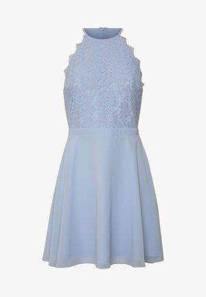 ADORABLE SPORTSCUT DRESS - Day dress - light blue