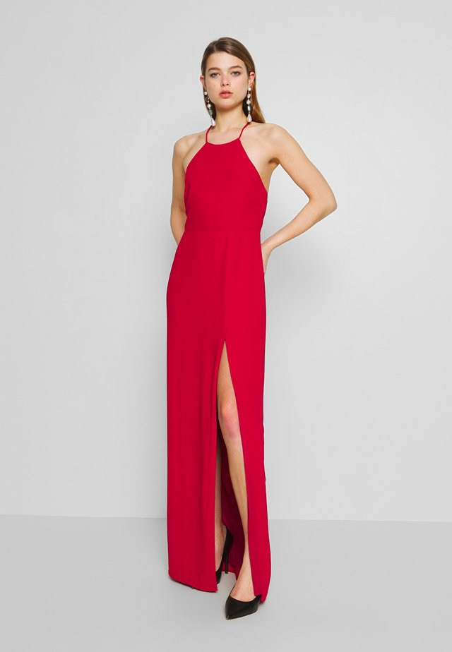 STRAP BACK GOWN - Maxi dress - red