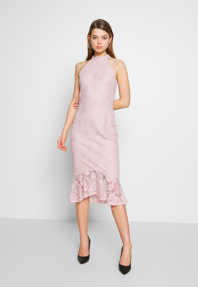 FAB MIDI DRESS - Cocktail dress / Party dress - rose