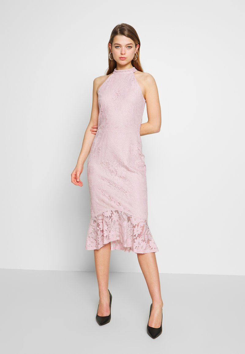 Nly by Nelly - FAB MIDI DRESS - Sukienka koktajlowa - rose
