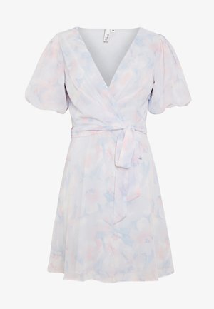 PUFF SLEEVE DRESS - Vestido informal - multicoloured