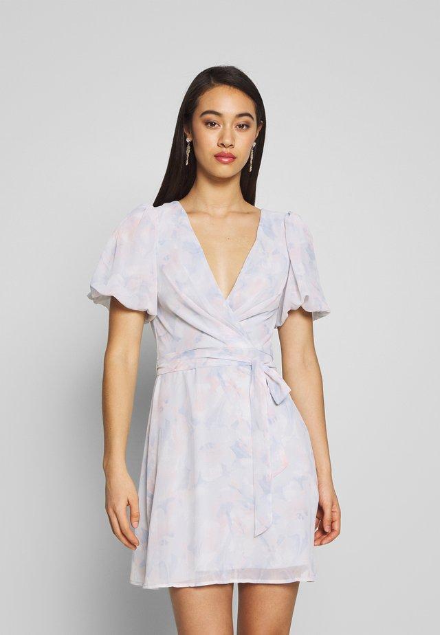 PUFF SLEEVE DRESS - Denní šaty - multicoloured