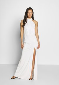 Nly by Nelly - FYI BOW GOWN - Iltapuku - white - 0